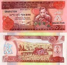 Ethiopie - Ethiopia billet neuf de 10 birr pick 43 UNC