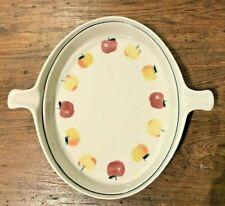 New listing Hartstone Pottery Golden Delicious Double Handld Baker Casserole Cobblr Dish Euc