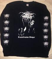 DARKTHRONE Transilvanian Hunger Long Sleeve Shirt old funeral isengard midnight