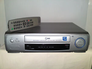 LG LV210 VHS VCR Video Recorder -NTSC PB-Crystal live picture-Video Doctor-SP/LP