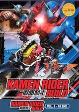 Masked Kamen Rider Build Complete Series DVD Box 49 Episodes English Subtitles