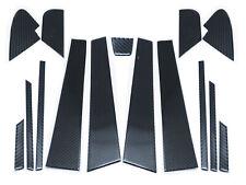 B Pillar Mask Panel Window Carbon Trims for 2015-2020 Subaru WRX STI VA - 15pcs