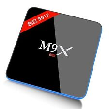 M9X Android 6.0 Tv Box S912 2G/16G 64 bit BT4.0 Dual Band Wi-Fi Marshmallow