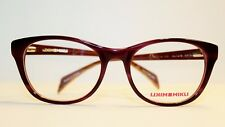 NEW ALAIN MIKLI ML1216 C01E RED TORTOISE ON ORANGE AUTHENTIC EYEGLASSES RX 53-18