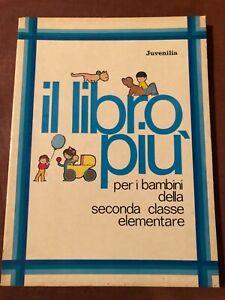Sussidiario Letture Il libro più seconda classe elementare juvenilia 1977