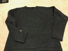Sundance Wool Blend Sweater- grey v neck gently used  thick great condition