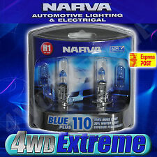 NARVA H1 BLUE PLUS 110 HALOGEN HEADLAMP LIGHT BULBS GLOBES 48530BL2 PARKER T10