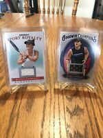 2020 Goodwin Champions Bianca Andreescu Sport Royalty Premium Relic + Patch Card
