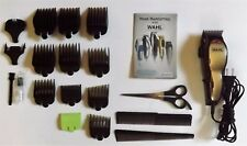 Wahl Adjustable Hair Clippers Model MC2 W/9 Attachments, Combs, Case, Manual