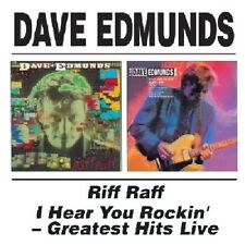 Dave Edmunds Riff Raff/I Hear You Rockin'-Greatest Hits Live 2on1 CD NEW SEALED