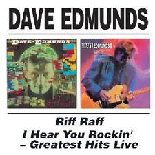 Dave Edmunds Riff Raff/I Hear You Rockin'-Greatest Hits Live 2on1 CD NEW SEALED