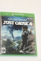 Microsoft Xbox One JUST CAUSE 4 DAY ONE EDITION New Sealed SHIPS SAME DAY