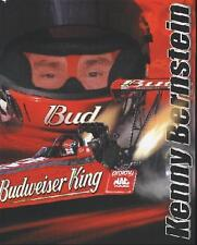 2001 Kenny Bernstein Budweiser Top Fuel NHRA postcard