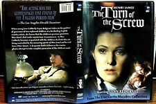 HENRY JAMES' TURN OF THE SCREW DVD LYNN REDGRAVE DAN CURTIS MACABRE COLLECTION