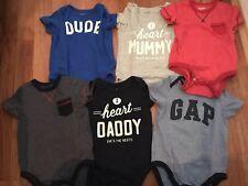 Gap Baby Boy Summer Tshirts/ Bodysuits 6-12 Months