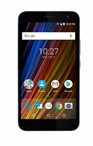 Cricket Wireless - Cricket Wave 16GB Prepaid Android Smartphone - Blue   New