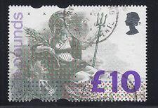Great Britain Sc 1478 used. 1993 £10 Britannia, Vf