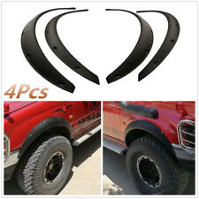 4Pcs Universal Flexible Car Fender Flares Wheel Eyebrow Protector 91cm + 92cm