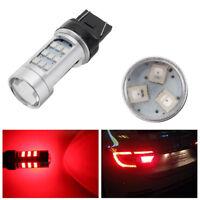 2 Pcs T20 7443 780LM 30LED Red LED Light Bulbs Car Brake Reverse Fog Tail Lamp