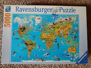 """Ravensburger puzzle 5000 piece """"Fascinating World"""" discontinued!"""