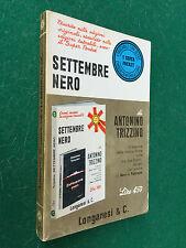 Antonino TRIZZINO - SETTEMBRE NERO , Longanesi Pocket (1971) Libro Marina M.