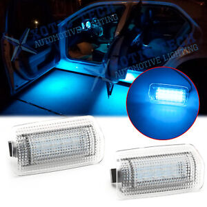 OEM-Replace Ice Blue Full LED Side Door Courtesy Lights Assy For Lexus or Toyota