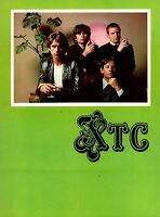 XTC 1980 BLACK SEA TOUR CONCERT PROGRAM BOOK BOOKLET / NEAR MINT 2 MINT