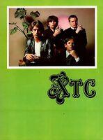 XTC 1980 BLACK SEA TOUR CONCERT PROGRAM BOOK BOOKLET / NEAR MINT 2 MINT