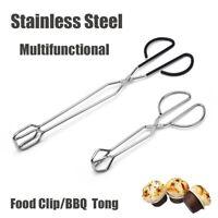 Mr Bar-B-Q 02802Y Easy Grip Stainless Steel Tongs