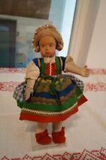 Anna Fehrle 1892-1981 Schwäbisch Gmünd - Alte Puppe in Tracht bewegliche Glieder
