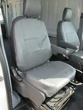2014 2015 2016 2017 2018 Ford Transit Front Bucket Seat Covers. Gray Twill