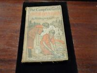 THE CAMP FIRE GIRLS ON THE OPEN ROAD Vintage Book  Series #7 by Frey HC 1918