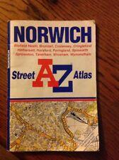 Vintage Street Map Atlas Norwich Norfolk 1998 A Z Booklet