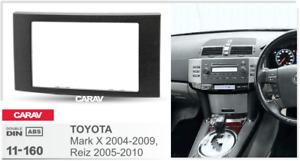 CARAV 11-160 2-DIN Marco Adaptador de radio TOYOTA Mark X 2004-09, Reiz 2005-10