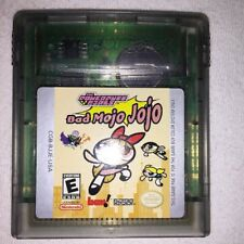 Powerpuff Girls Bad Mojo Jojo (Nintendo Game Boy Color) GBC Game Cartridge Exc!