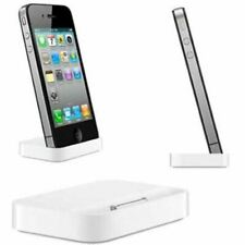 CHARGER DESKTOP DOCK STAND DOCKING STATION 30 PIN AUDIO FOR IPHONE 4 4S 4GS