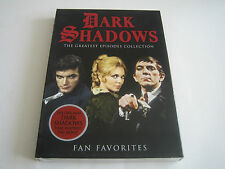 DVD DARK SHADOWS THE GREATEST EPISODES COLLECTION - FAN FAVORITES W/SLIP COVER