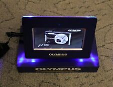 Vintage Olympus POS Promo Genuine Original Digital Photo Frame with Promo Video