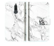 Marble Shape Stone Wallet Phone Case Cover For Telstra Nokia 2.1 - A029