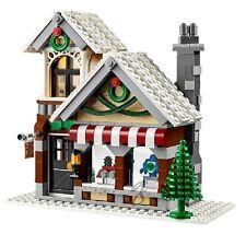 !! Genuine New Lego Winter Toy Shop House Split From Set 10249 !!