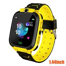 Умные часы с GPS-локатор Gsm сенсорный экран Tracker Sos для детей дети подарок