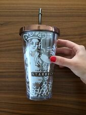 First Starbucks Summer Cold Cup Travel Tumbler Mermaid Pike Place Exclusive