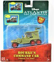Mattel Disneys Atlantis The Lost Empire Rourke's Command Car Commands The Road