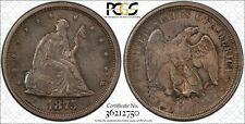 1875-S Liberty Seated Twenty Cent Piece PCGS AU-58 - Nice Original Coin - uks