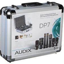 Audix Dp7 - Professional Seven Piece Drum Condenser Microphone Kit Dp-7