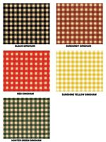 "GINGHAM Print Gift Grade Tissue Paper Sheets 15"" x 20"" Choose Print & Amount"