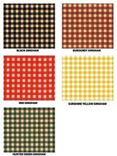 "Gingham Print Gift Grade Tissue Paper Sheets 20"" x 30"" Choose Print & Amount"