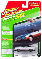 2019 Johnny Lightning *CLASSIC GOLD 1B* Euro White 1992 Cadillac Allante *NIP*