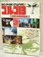 GOLGO 13 Art Illustration 1983 Vtg Fan Book 1983 SG19
