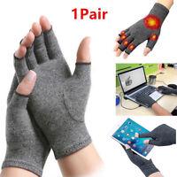 Women Lady Men Winter Wrist Arm Hand Warmer Plush Gingerless Glove Mitten GO9